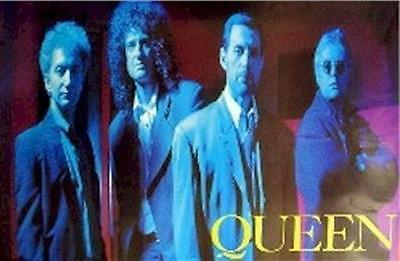 QUEEN ~ BLUE GROUP ~ 23x35 Music Poster ~ Music Freddie Mercury Brian May