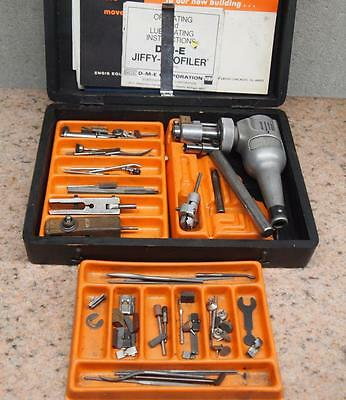 D-M-E Jiffy Profiler Filing Polishing Machine  DME