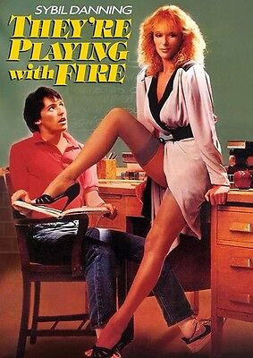 They'Re Playing With Fire (1984) (2017, REGION 1 DVD New)