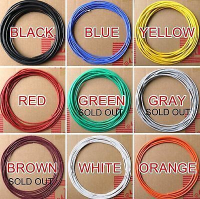 Silicone wire 20awg for RC Lipo by the metre-various colours