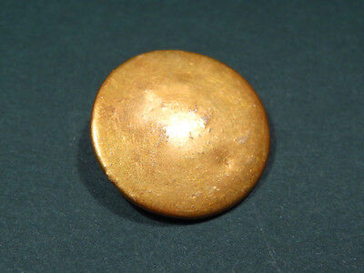 Ancient Gold Button Greco-Roman 200 Bc-100 Ad