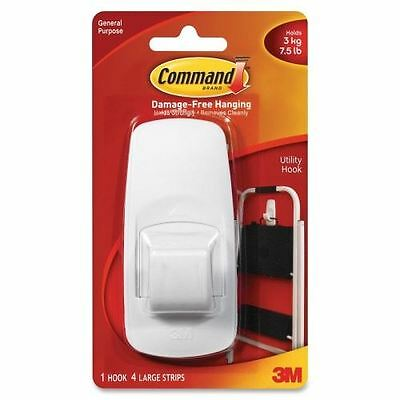 3M Reusable Command Adhesive Strip Hook 17004C