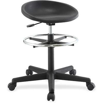 Lorell Chromed Footring Adjustable Stool 66916