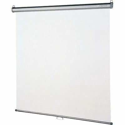 Quartet Manual Projection Screen - 1:1 - Wall Mount, Ceiling Mount 696S