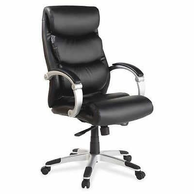 Lorell Executive Bonded Leather High-back Chair 60620