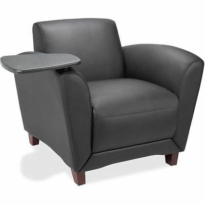 Lorell Reception Seating Chair with Tablet 68953