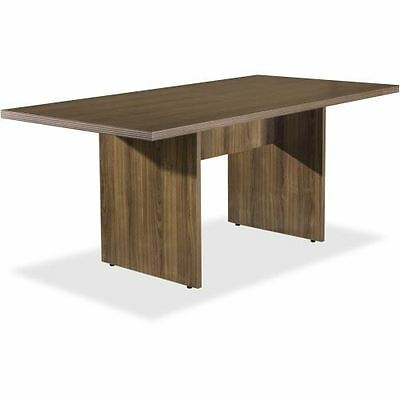 Lorell Chateau Series Walnut 6' Rectangular Table 34341