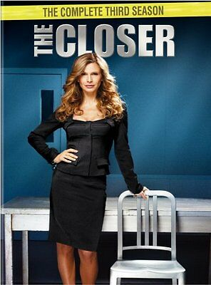 THE CLOSER COMPLETE SEASON 3 New Sealed 4 DVD Set