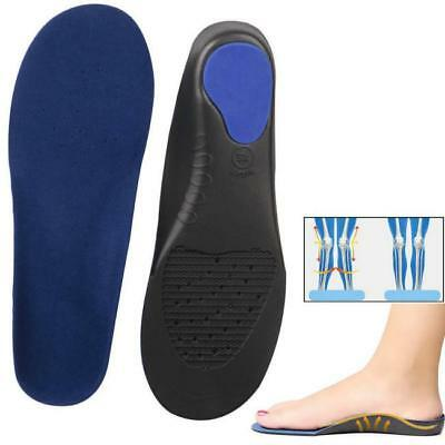 1 Pair Shoes Arch Support Cushion Feet Care Insert Orthopedic Flat Foot Insole Q