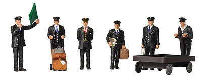 BRANCHLINE OO SCENECRAFT 36-404 SCALE FIGURES 1940/50s STATION STAFF BLN36404