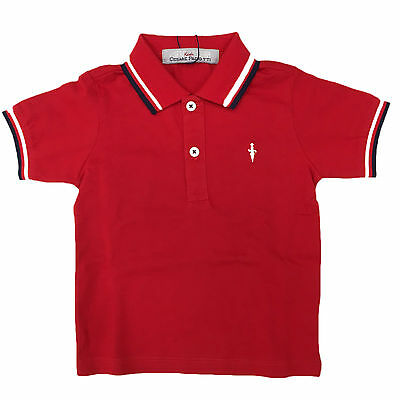 Paciotti Bambino PLP603BP Red Polo Primavera/Estate