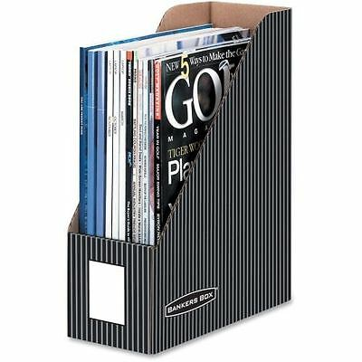 Bankers Box Pinstripe Magazine Files - Letter 6170101