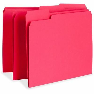 Business Source Color-coding Top Tab File Folder 65776