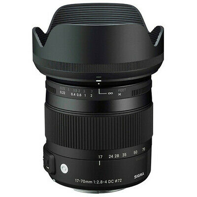 Sigma 17-70mm f/2.8-4 DC OS HSM Contemporary Lens - Canon Fit