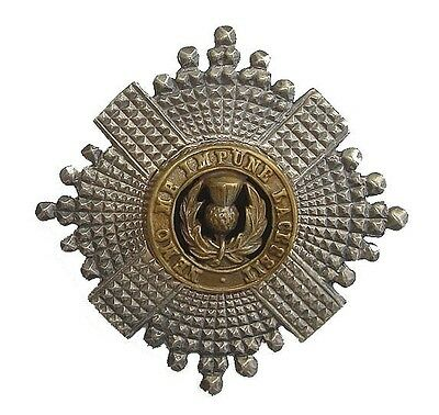 Ww1 Scots Guards Officers Badge Silver
