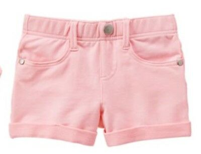 GYMBOREE FRUIT PUNCH GIRLS SHORTS Soft Knit Pink NWT SIZE 7