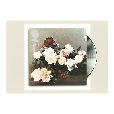 NEW ORDER, ROCK BAND, POWER CORRUPTION and LIES CLASSIC ALBUM COVER PHQ POSTCARD
