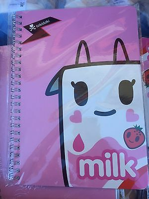 Tokidoki Strawberry Milk Wired Notebook