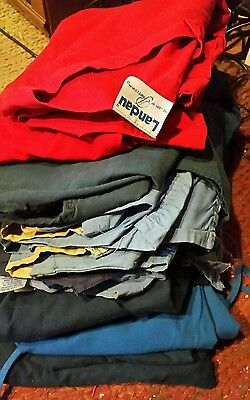 Mixed Lot of 12 Medical Scrubs Various Brands, Colors, and Sizes