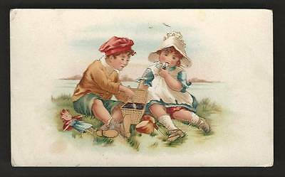 "Arbuckle's ""Ariosa"" Coffee - Children Having Picnic"
