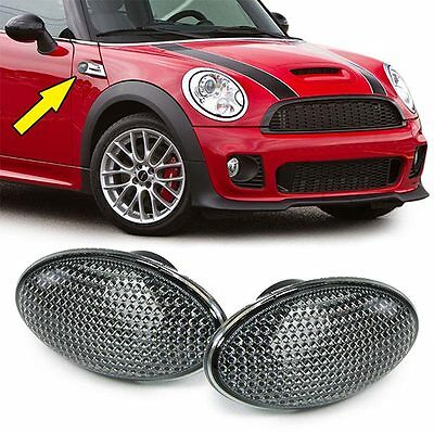 PAR indicadores INTERMITENTES LUCES LATERAL HUMO' MINI COOPER 2001>2006