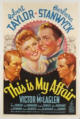 This Is My Affair (1937) 767