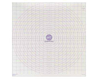 Wilton Roll-N-Cut Mat for Icing Fondant Dough Sugarcraft and Cake Decorating