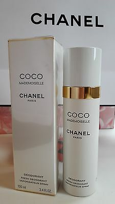 Chanel COCO MADEMOISELLE BODY FRESH DEODORANT SPRAY 100ml NIB
