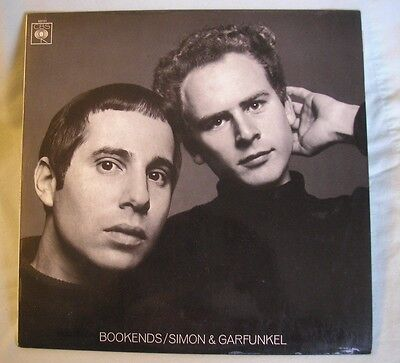 SIMON & GARFUNKEL Bookends UK LP 1968 orange label ex/ex