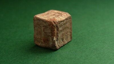 Ancient Lead Cubic Weight Byzantine 400-600 Ad