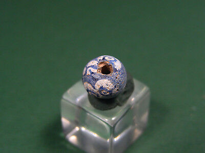 Ancient Mosaic Eye Bead Egyptian Late Period, 716-30 Bc