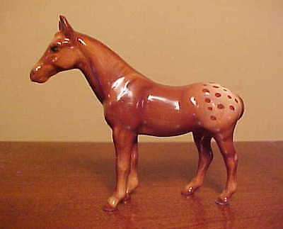 Hagen-Renaker #2011-1 Mini Appaloosa Mare Baseless/Alone - 2013 COLOR VARIATION