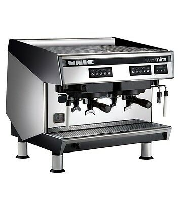 UNIC Twin Mira 2 Group Commercial Espresso Coffee Machine TWMIRA