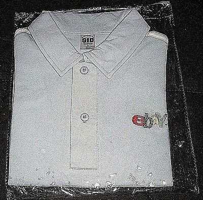 2004 eBay Taiwan (no longer in business) Medium Light Blue Shirt--New in package