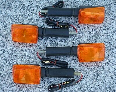 Set of Four FULL-SIZE MOTORCYCLE TURN SIGNALS