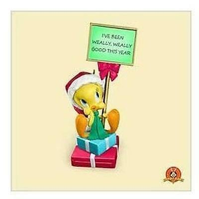 Hallmark Magic Ornament 2006 Twuthful Tweety - Looney Tunes - #QXI6123