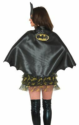 Batgirl Cape Adult Womens Costume Accessory NEW