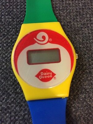 Dairy Queen Watch Multi Color DQ Watch Untested Vintage
