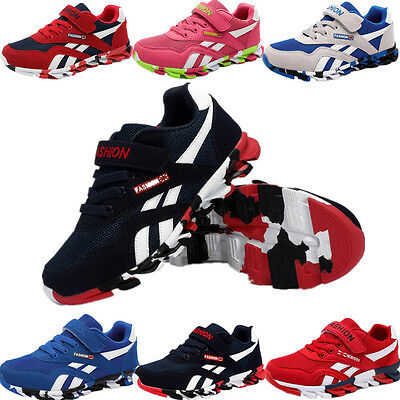 Children Shoes Kids Boys Sneakers Girls Sport Casual Breathable Running Shoes