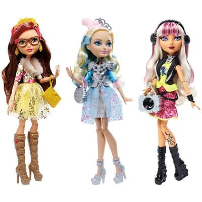 Ever After High Fashion Dolls Charming Rosabella Beauty Melody Piper Toy