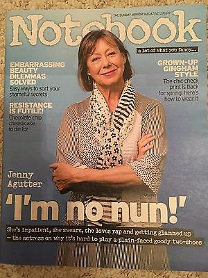 Notebook Magazine March 2017 Jenny Agutter Call The Midwife Photo Interview