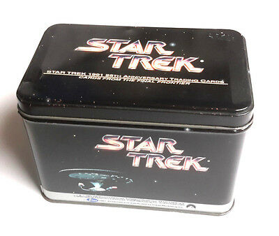 1991 Star Trek 25th Anniversary Collector Tin-310 Card Set+ Holos-Ltd Ed Sealed