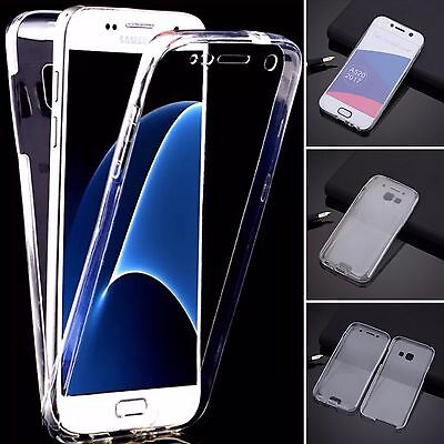 Coque Cover Housse Silicone Avant + Arriere 360 Samsung Galaxy A5 2017 / A520F