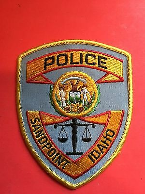 Sandpoint Idaho Police   Shoulder Patch