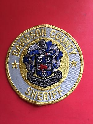 Davidson County   North Carolina  Sheriff  Shoulder  Patch