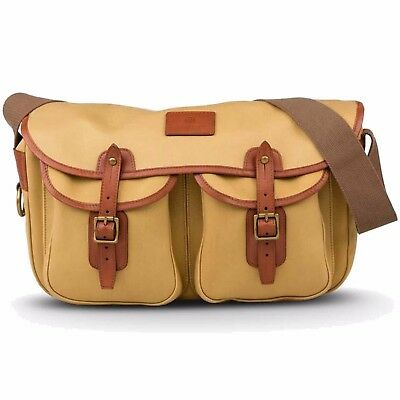 Hardy Compact Canvas and Leather Traditional Fishing Bag