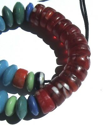 41 Rare Amazing Old Mixed Czech Antique Beads African Trade