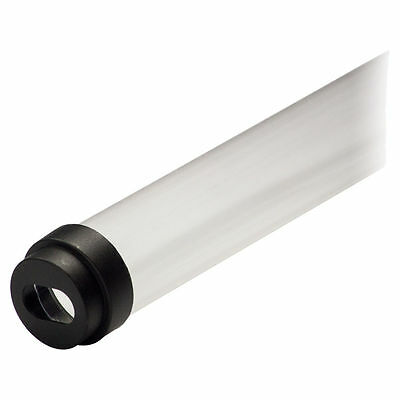 """Caps T8 F32 for 48/"""" Tube CASE of 24 Refrigerator Fluorescent Bulb Guard Sleeve"""