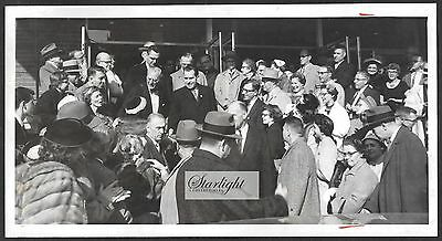 ☆ Vice President Richard Nixon ORIGINAL 1950s Press Photo Minneapolis