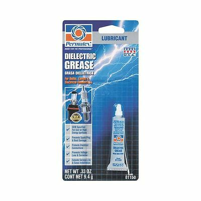 Permatex 81150 Tune-Up Dielectric Grease, 0.33 oz, Tube, White, Paste